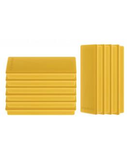 Магниты прямоугольные 55x22/1.3 желтые Magnetoplan Rechteck Yellow Set (1665102)