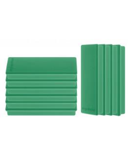 Магниты прямоугольные 55x22/1.3 зеленые Magnetoplan Rechteck Green Set (1665105)