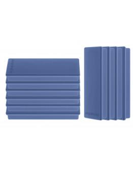 Магниты прямоугольные 55x22/1.3 синие Magnetoplan Rechteck Dark-Blue Set (1665114)