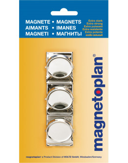Магниты-клипсы 35x35/0.1 Magnetoplan Magnetclip Set (16670)