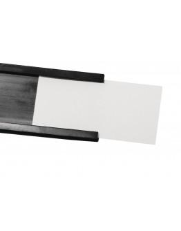 Этикетки C-профиля с защитой 50x10 белые Magnetoplan C-Profil Label+Foil Set (17710)