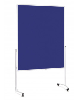Доска модерационная мобильная 1200x1500 Magnetoplan Felt-Blue Mobile (2111103)
