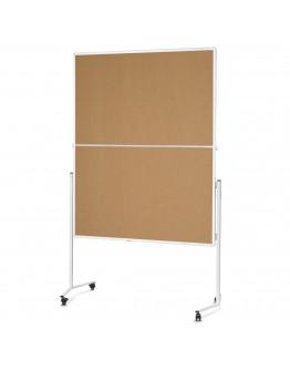 Доска модерационная мобильная складная 1200x1500 Magnetoplan Folding Cork Mobile (2111324)