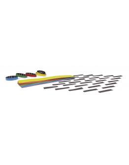 Набор аксессуаров для коллективного планировщика 1241212S Magnetoplan Staff&Project Planner Refill Set (371212S)