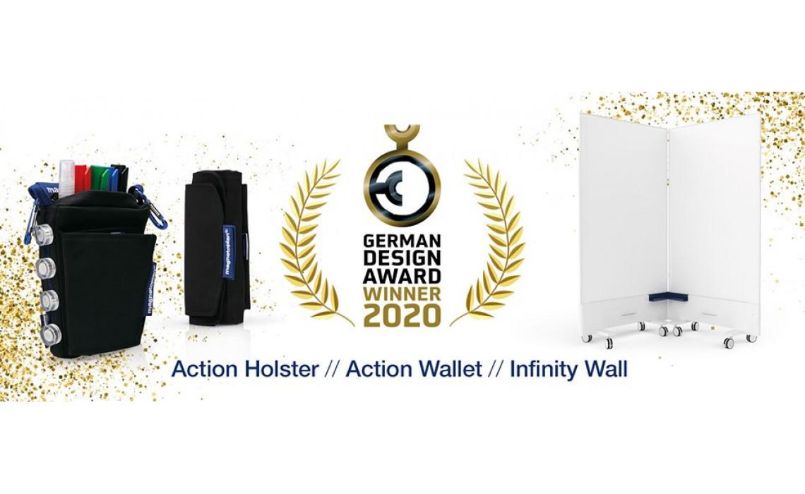 Три продукта magnetoplan получили престижную награду German Design Award Winner 2020